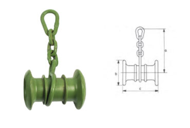 Spacing Spool with Chain