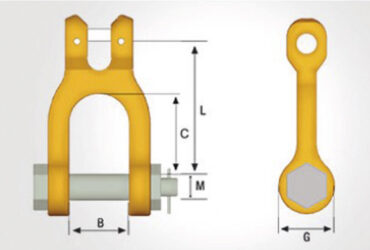 Clevis GSA 80 Shackle