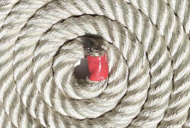Cuerda Poliamida Torcida meollar brillo