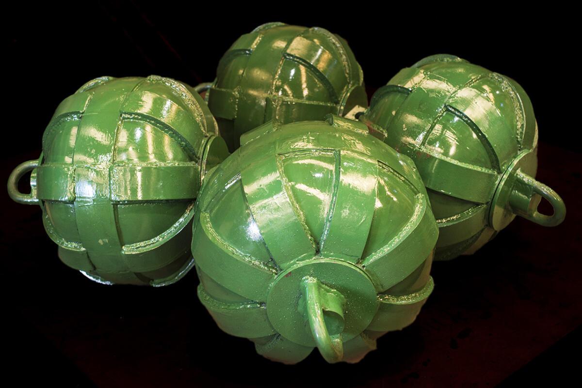 esferas reforzadas